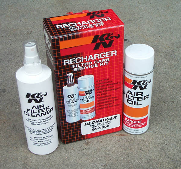 K&n air filter cleaning kit recharger cleaner & oil (99-5050.