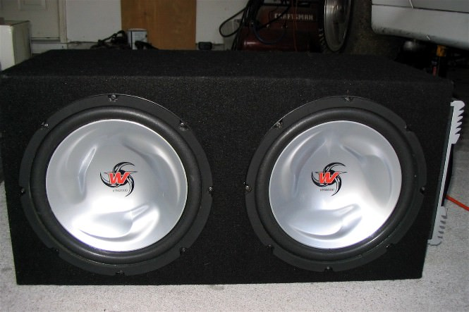 FS: Kenwood Excelon Amp w/ Subs and Box - Celica Hobby
