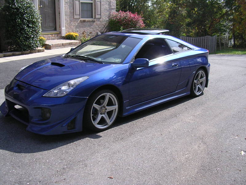 My Celica Gts Blue Pearl All Show Celica Hobby