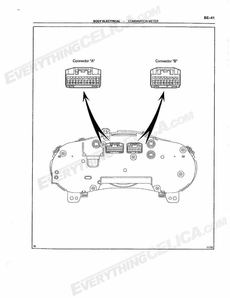 Guage Cluster  Speedometer  Tachometer  Diagrams