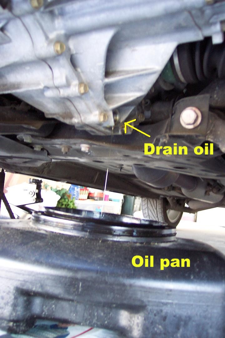 Transmission Fluid, Manual Gear Oil - How To Replace