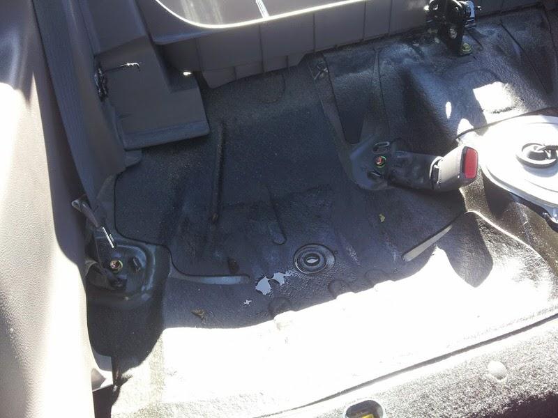 Seats, Rear - How To Fix Water Leak, Prevent Wet Back Seats - Celica ...