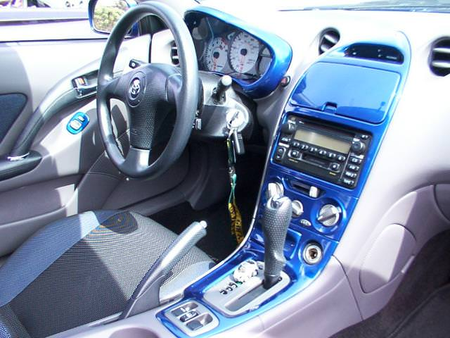Dashboard Painting Your Center Console Quick Info Celica Hobby