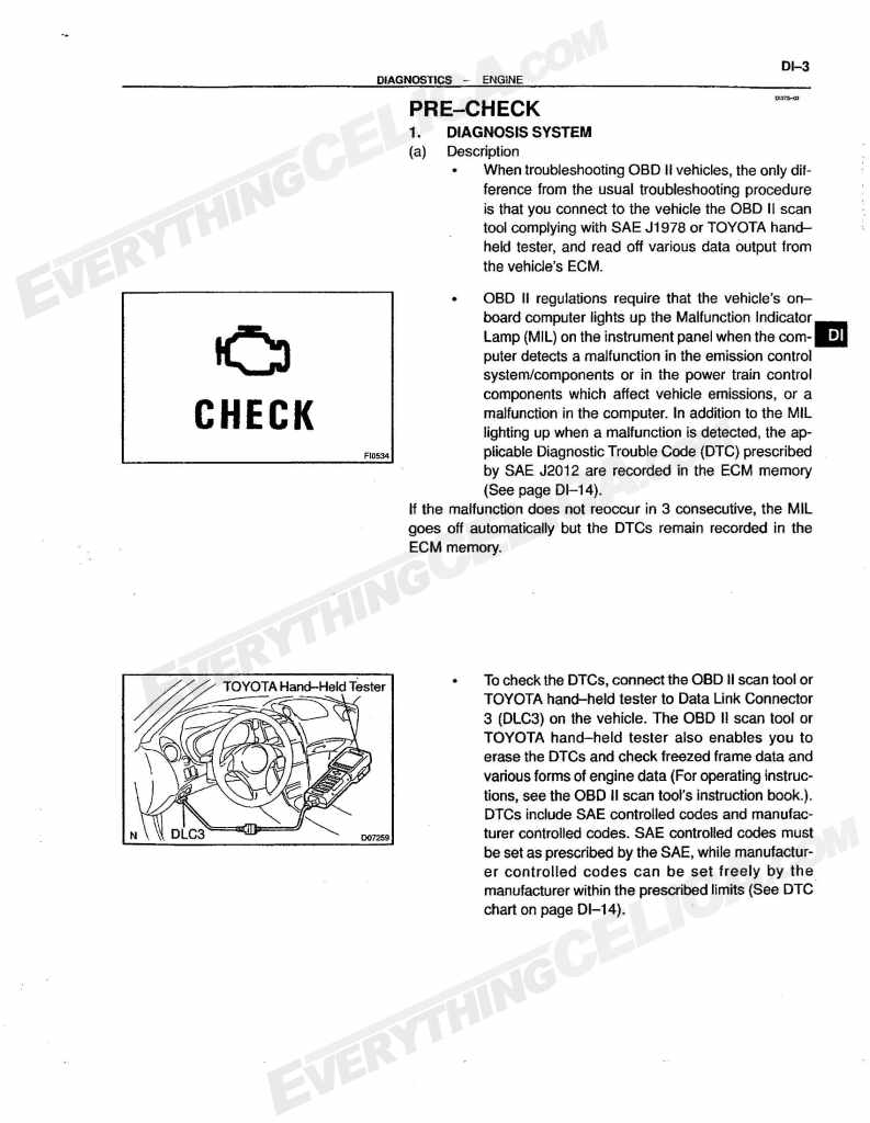 ... Check Engine Light   Diagnostic Trouble Code Chart. [Linked Image]
